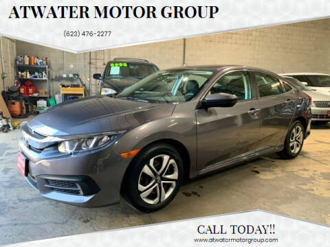 2018 Honda Civic for sale at Atwater Motor Group in Phoenix AZ