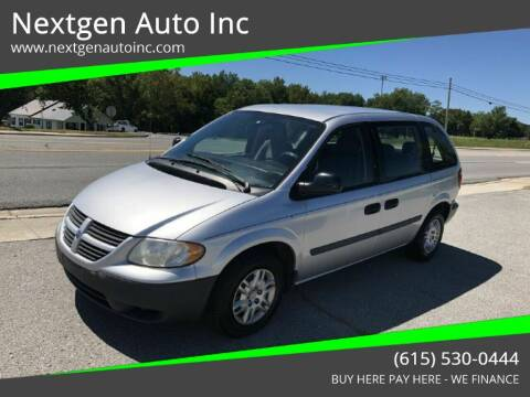 2007 Dodge Caravan for sale at Nextgen Auto Inc in Smithville TN