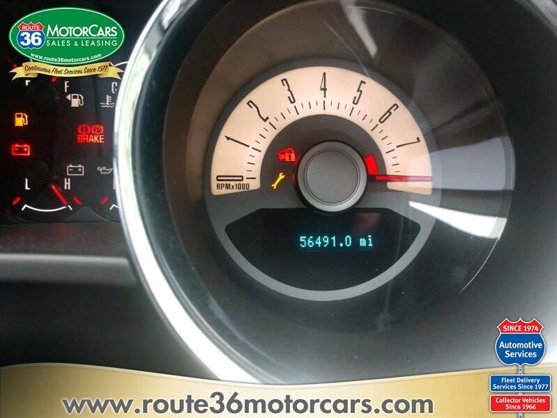 2011 Ford Mustang for sale at ROUTE 36 MOTORCARS in Dublin OH