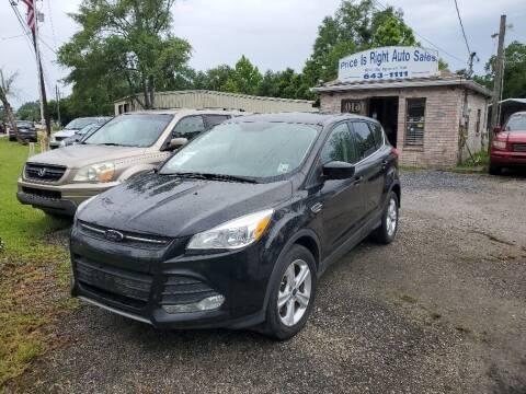 2016 Ford Escape for sale at Price Is Right Auto Sales in Slidell LA