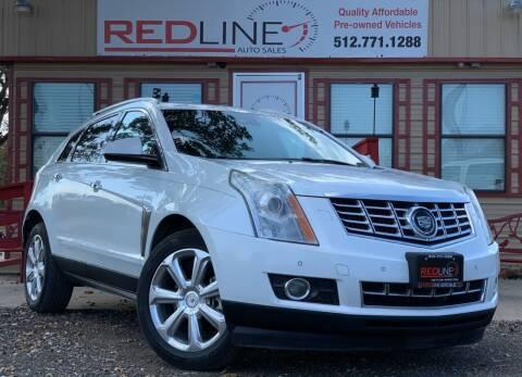2014 Cadillac SRX for sale at REDLINE AUTO SALES LLC in Cedar Creek TX