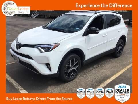 2017 Toyota RAV4 for sale at Dallas Auto Finance in Dallas TX