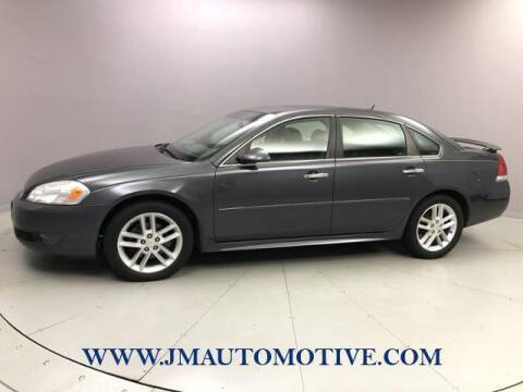 2010 Chevrolet Impala for sale at J & M Automotive in Naugatuck CT