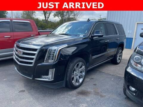 2017 Cadillac Escalade for sale at Monster Motors in Michigan Center MI