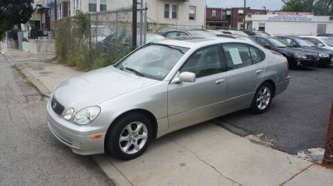 2001 Lexus GS 300 for sale at GM Automotive Group in Philadelphia PA