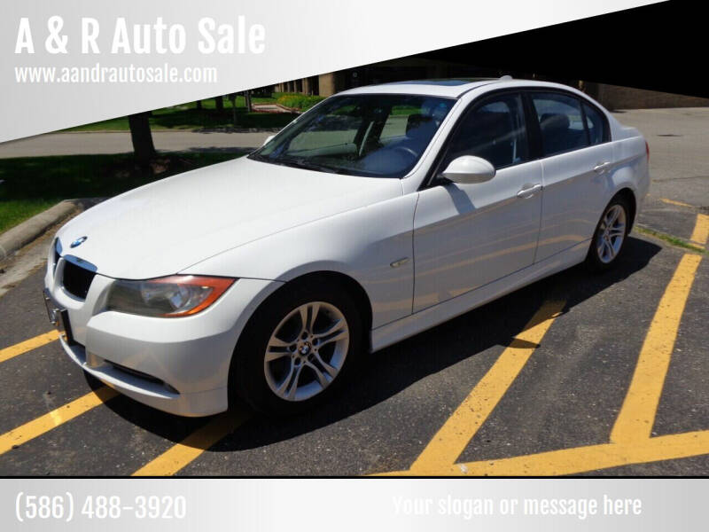 2008 BMW 3 Series for sale at A & R Auto Sale in Sterling Heights MI