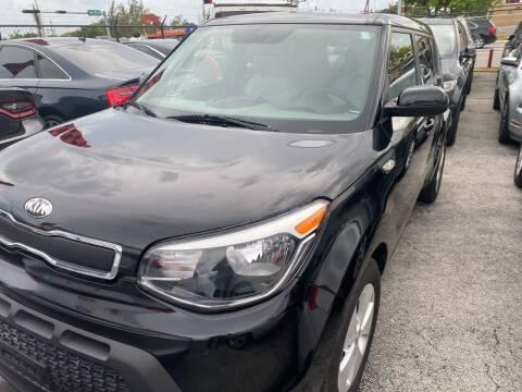 2014 Kia Soul for sale at America Auto Wholesale Inc in Miami FL
