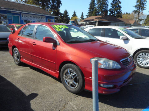 2006 Toyota Corolla for sale at Lino's Autos Inc in Vancouver WA