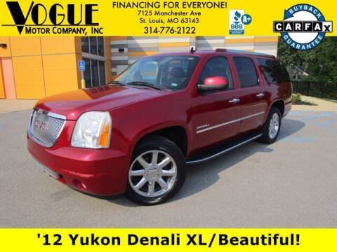2012 GMC Yukon XL for sale at Vogue Motor Company Inc in Saint Louis MO