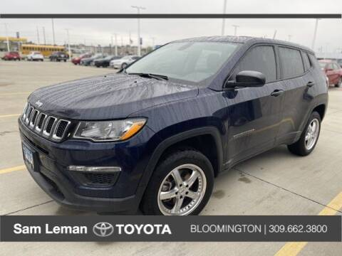 2019 Jeep Compass for sale at Sam Leman Mazda in Bloomington IL