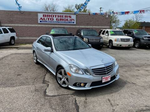 2010 Mercedes-Benz E-Class for sale at Brothers Auto Group in Youngstown OH