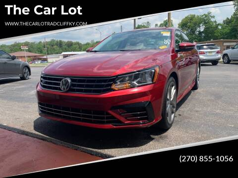 2018 Volkswagen Passat for sale at The Car Lot in Radcliff KY
