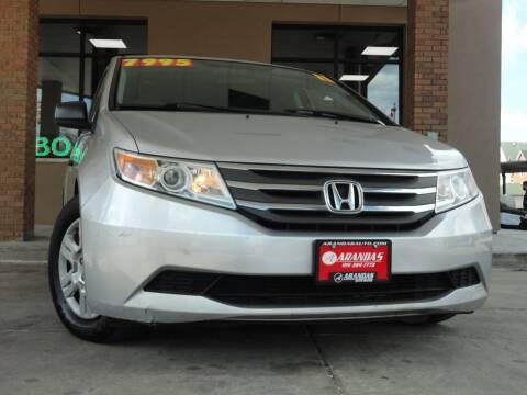 2011 Honda Odyssey for sale at Arandas Auto Sales in Milwaukee WI