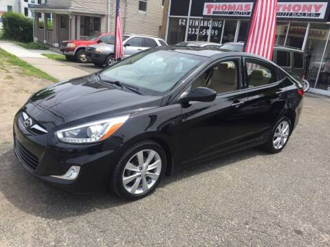 2014 Hyundai Accent for sale at Thomas Anthony Auto Sales LLC DBA Manis Motor Sale in Bridgeport CT