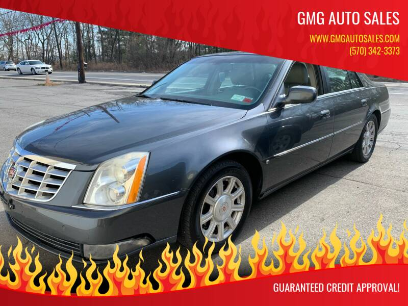 2009 Cadillac DTS for sale at GMG AUTO SALES in Scranton PA