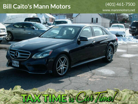 2015 Mercedes-Benz E-Class for sale at Bill Caito's Mann Motors in Warwick RI