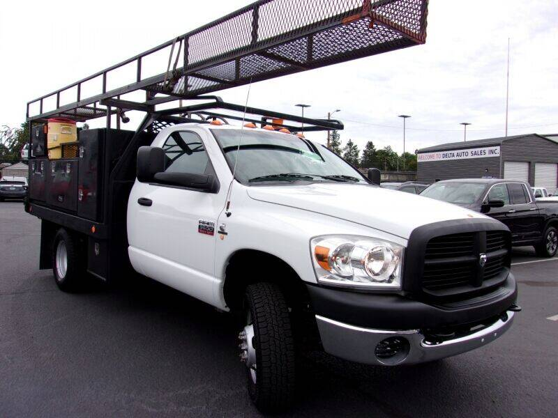 2008 Dodge Ram Chassis 3500 for sale at Delta Auto Sales in Milwaukie OR