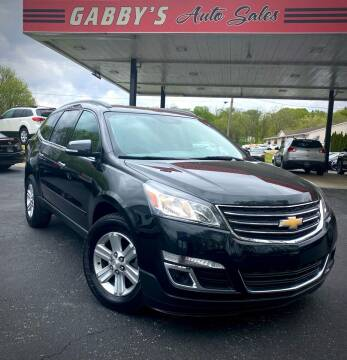 2014 Chevrolet Traverse for sale at GABBY'S AUTO SALES in Valparaiso IN