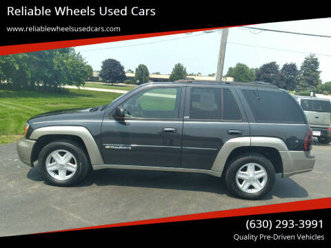 2003 Chevrolet TrailBlazer for sale at Reliable Wheels Used Cars in West Chicago IL