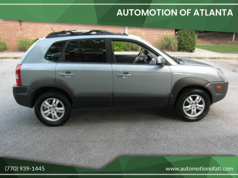 2006 Hyundai Tucson for sale at Automotion Of Atlanta in Conyers GA