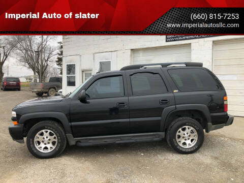 2004 Chevrolet Tahoe for sale at Imperial Auto of Marshall in Marshall MO
