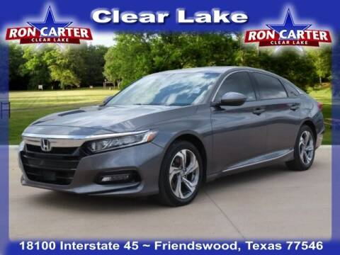 2018 Honda Accord for sale at Ron Carter  Clear Lake Used Cars in Houston TX