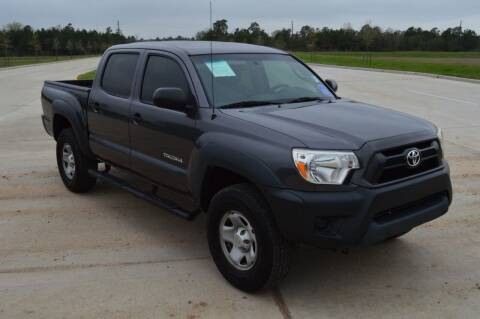 2015 Toyota Tacoma for sale at Fincher's Texas Best Auto & Truck Sales in Tomball TX