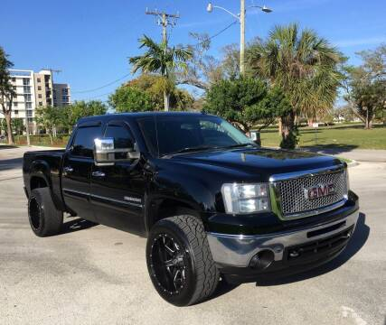 2010 GMC Sierra 1500 for sale at FIRST FLORIDA MOTOR SPORTS in Pompano Beach FL