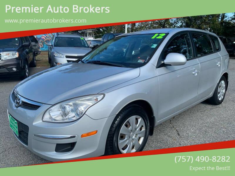 2012 Hyundai Elantra Touring for sale at Premier Auto Brokers in Virginia Beach VA