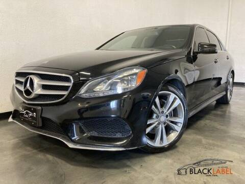2014 Mercedes-Benz E-Class for sale at BLACK LABEL AUTO FIRM in Riverside CA