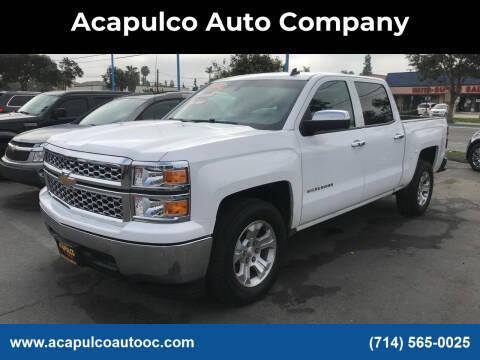 2014 Chevrolet Silverado 1500 for sale at Acapulco Auto Company in Santa Ana CA