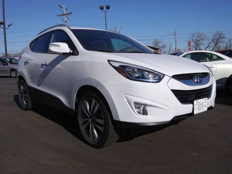 2015 Hyundai Tucson for sale at Village Auto Outlet in Milan IL