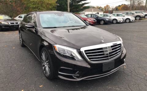 2016 Mercedes-Benz S-Class for sale at Rick's Motor City, LLC in Springfield MA