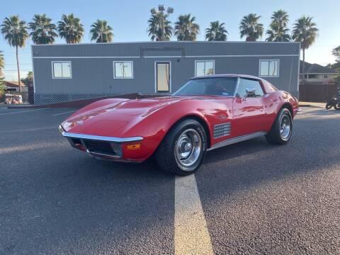 1971 Chevy Corvette for sale at Barrett Auto Gallery in San Juan TX