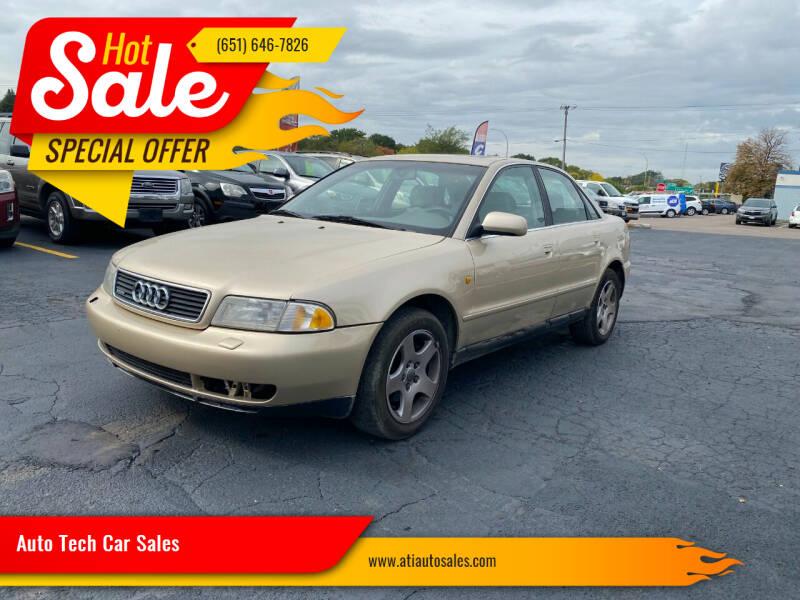 1998 Audi A4 for sale at Auto Tech Car Sales in Saint Paul MN