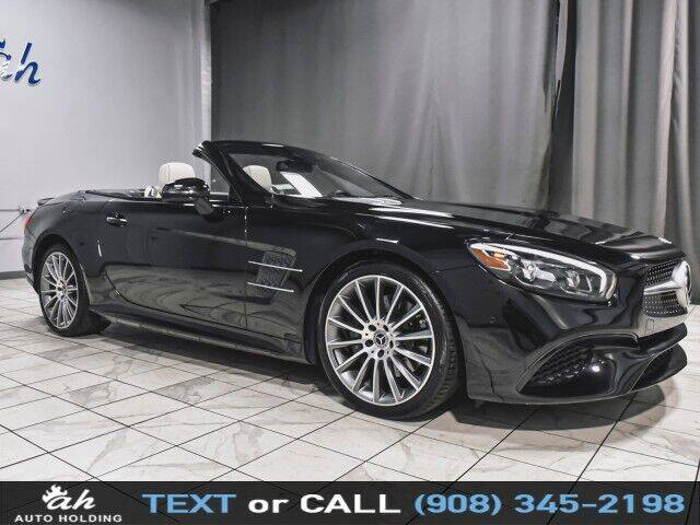 2018 Mercedes-Benz SL-Class for sale at AUTO HOLDING in Hillside NJ