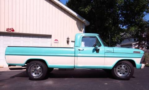 1967 Ford F-250 for sale at Classic Car Deals in Cadillac MI