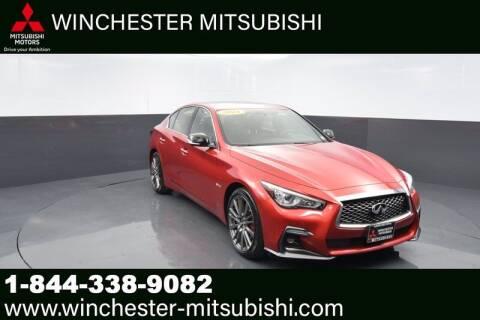 2018 Infiniti Q50 for sale at Winchester Mitsubishi in Winchester VA