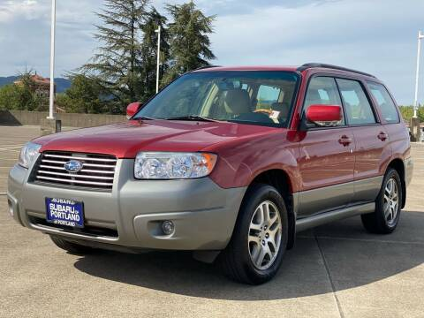 2006 Subaru Forester for sale at Rave Auto Sales in Corvallis OR