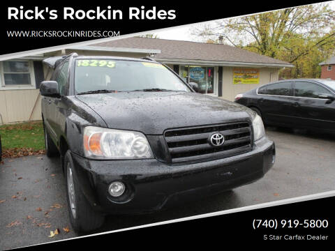 2007 Toyota Highlander for sale at Rick's Rockin Rides in Reynoldsburg OH