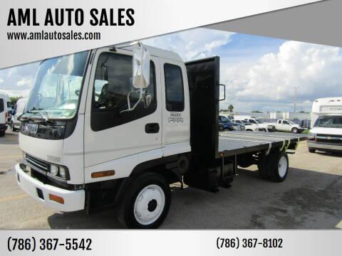 2001 Isuzu FRR for sale at AML AUTO SALES - Flat Beds in Opa-Locka FL