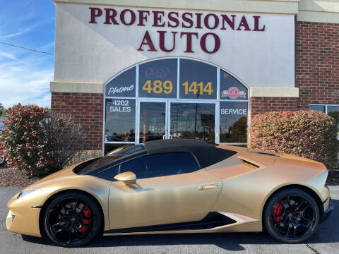 2018 Lamborghini Huracan for sale at Professional Auto Sales & Service in Fort Wayne IN