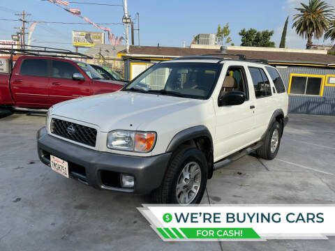 2001 Nissan Pathfinder for sale at FJ Auto Sales North Hollywood in North Hollywood CA