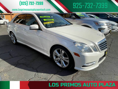 2008 Mercedes-Benz E-Class for sale at Los Primos Auto Plaza in Antioch CA