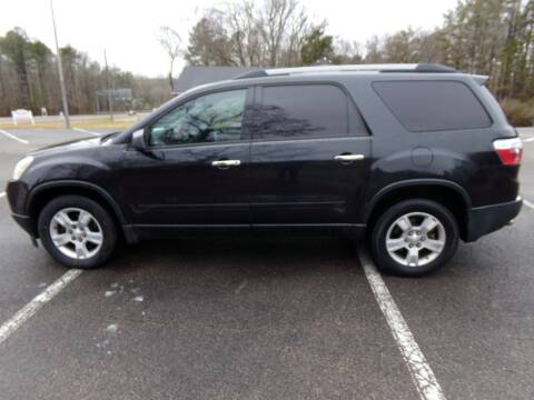 2010 GMC Acadia for sale at West End Auto Sales LLC in Richmond VA