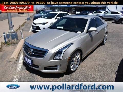 2013 Cadillac ATS for sale at South Plains Autoplex by RANDY BUCHANAN in Lubbock TX