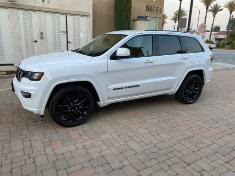 2017 Jeep Grand Cherokee for sale at California Motor Cars in Covina CA