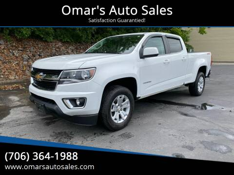 2017 Chevrolet Colorado for sale at Omar's Auto Sales in Martinez GA