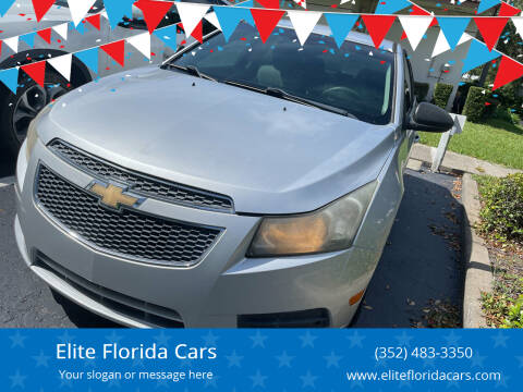 2011 Chevrolet Cruze for sale at Elite Florida Cars in Tavares FL