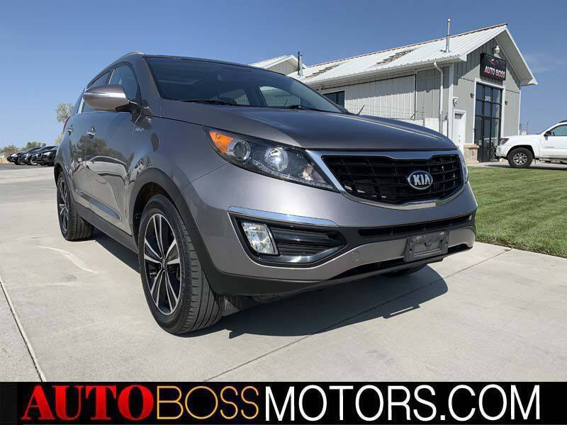 2016 Kia Sportage for sale at Auto Boss in Woodscross UT